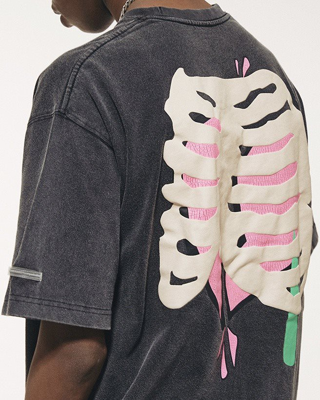 スカルハートTシャツの画像6