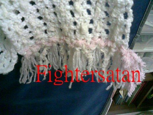 白圍巾-尾