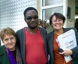 V FREPOP 2007 Olga (Cuba), Kapitango (África) e eu (Floripa do B