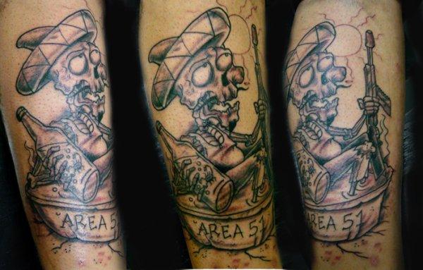 Sábado - Tattoo. Nova tatuagem. Ainda sem cor
