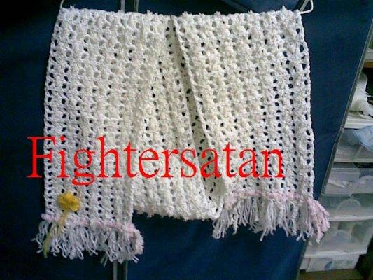 白圍巾-全