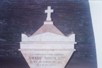 Cenotafio Bonpland