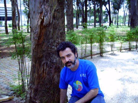 Psicólogo João Roberto Vieira_Coordenador do Projeto Oasis em Ação Educativa Sócio-Ambiental