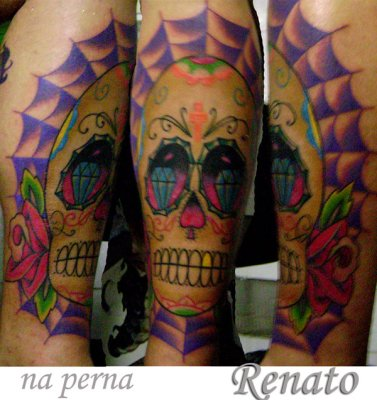 tattoo feita pelo Renato do Underground Tattoo